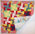 Baby Windmills Square Baby Quilt